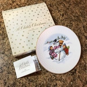 Avon collection Christmas plate